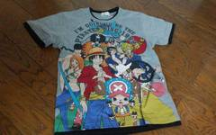 130 ONE PIECE Tシャツ グレー