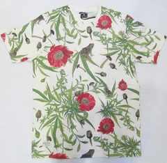 AI11)PELLE PELLE総柄デザインTシャツ半袖(PM3051401)