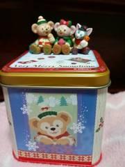 2015.11.3発売★クリスマス★ダッフィーのキャンディー缶