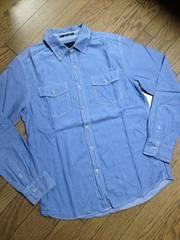 美品21MEN シャンブレーシャツ FOREVER21 メンズ