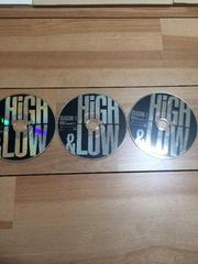 日本製正規版DVD HIGH&LOW SEASON1 VOL1〜3
