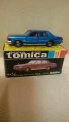 美品 貴重!当時モノ 黒箱トミカ ニッサン セドリック 280E ブロアム 日本製 送込
