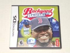 DS★BACKYARD BASEBALL'09 海外版(国内本体動作可能)