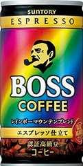サントリーコーヒーBOSSレインボーマウンテンブレンド185g×30本