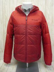 即決☆コロンビア 特価 ダウン ジャケット RED/XL ターボダウン ハイスペック防寒