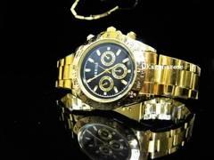 新品 定形外可能 腕時計 ゴールド/デイトナ好きに