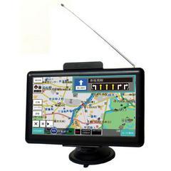オービス警告機能搭載7型ワンセグポータブルナビ018年度版搭載