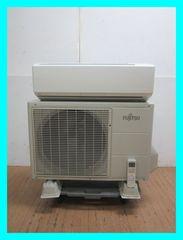 富士通プラズマイオンお掃除エアコン(10畳・100V対応)AS-R28C-W/2013年製