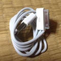 ケーブル iPhone4/4S/iPad/iPod対応