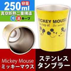 ミッキーマウス ステンレスタンブラー コップ 250ml STB2N Sk873