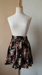 ページボーイ 花柄スカート
