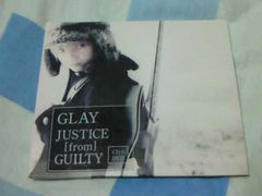 CD+DVD GLAY JUSTICE from GUILTY 初回限定盤
