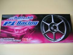 アオシマ 1/24 Sパーツ タイヤ&ホイール No.96 バーディークラブ P-1 RACING