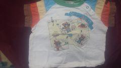 ミキハウス。ダブルBTシャツ90cm