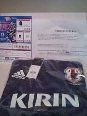 懸賞当選☆サッカー日本代表JFA TIRO15 ウーブンフーディーピステトップM