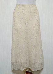 ♪新品タグ付♪ふんわりシフォンひざ丈スカート♪ウエスト76