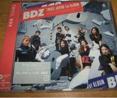 TWICE☆『BDZ(通常盤初回プレス)』トレカ無