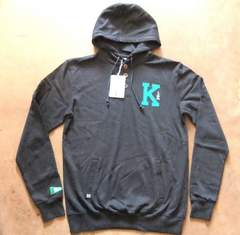KIX バスケットプルパーカー 普段着としても ネイビー 紺 L
