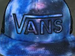 アメカジ バンズ【Vans】ロゴ刺繍入り メッシュCAP