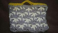 手編みのミニバック