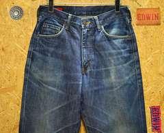 ◆廃盤◆エドウィン503Z ブラッドピッド W30(79cm)・股下74cm
