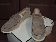 新品ミスターハリウッドN.HOOLYWOODスエードローファーレザー靴