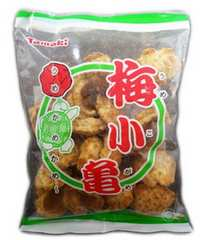 ご当地せんべい梅小亀 玉木製菓 80g O36M-2