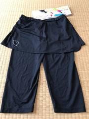 新品★スカート付き ローライズレギンス 6分丈M〜L