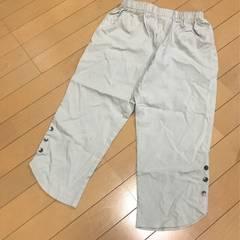 新品◆ストレッチ半端丈パンツ◆LL大きいサイズ◆ウエスト総ゴム