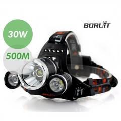 6000LM★RJ-5001CREEXM-LT6LEDヘッドライト+充電池2本