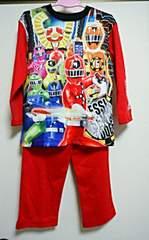 トッキュウジャー★光るパジャマ◆120�p◆赤