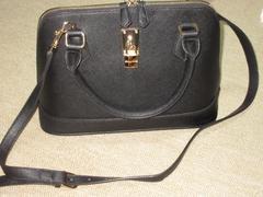 サマンサタバサ*レディアゼル(ブラック)2wayショルダーバッグ
