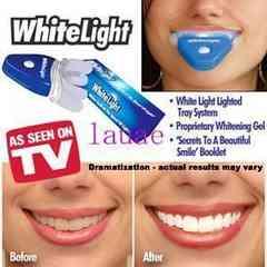 訳あり品!★白い歯デンタルホワイトライト★新品★自宅ホワイトニング美容オーラルケア