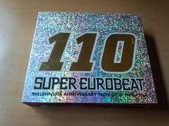 CD「スーパーユーロビートVOL.110 SUPER EUROBEAT SEB110」3枚組