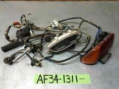 AF34 ライブディオ ハーネス メーター テール SR ZX AF35
