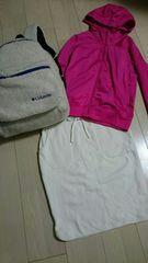 値下げUNIQLO新品未使用裏起毛ホワイトタイトスカート サイズS