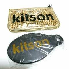 KITSON キットソン フラットポーチ 手鏡 ミラー 雑誌付録