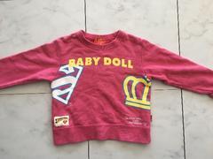 BABY DOLLトレーナー★100cm