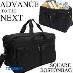 新品 2WAY ボストンバッグ メンズ 旅行バッグ 修学旅行 カバン 黒
