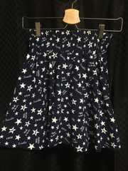 中古☆キュロット風スカート