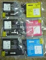 ブラザーbrother LC11-4PK 汎用 互換 インクカートリッジ6個セット新品