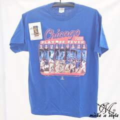 CHICAGO CUBS MLB シカゴ カブス TEE Tシャツ 青 2008 174 XL