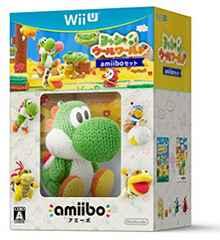 新品/未開封品 Wii U ヨッシー ウールワールド amiiboセット