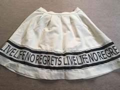 WEGO購入*裏地付きスカート*F、中古