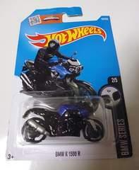 ホットウィール BMW K 1300 R バイク黒ホットホイール