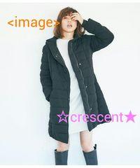 PJ/スタイルアップストレッチPコート☆新品♪ブラック/ベルト付き/中綿入り/値下げ