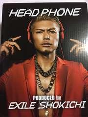 EXILE SHOKICHIプロデュース ヘッドホン新品未使用2014年限定