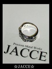 JACCE☆シルバー925オーガニックラインリング☆18号☆送料無料