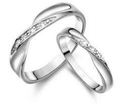 特A品 3.0ct ★送料無料★ ダイアモンド 波形リング 婚約指輪