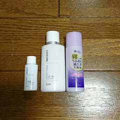 化粧水乳液美容液トラベルサイズセット/ちふれ/ミニサイズ